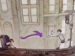"""Illustration aus """"Die Reise"""""""