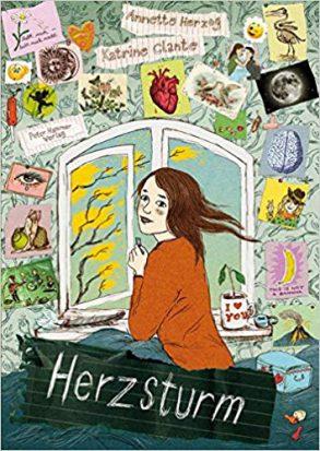 Cover: Annette Herzog, Herzsturm - Sturmherz