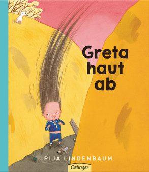 Cover: Pija Lindenbaum; Greta haut ab