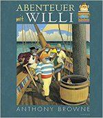 Cover: Anthony Browne, Abenteuer mit Willi