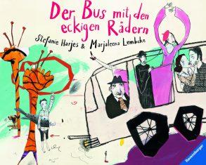 Cover: Marjaleena Lembcke, Der Bus mit den eckigen Rädern