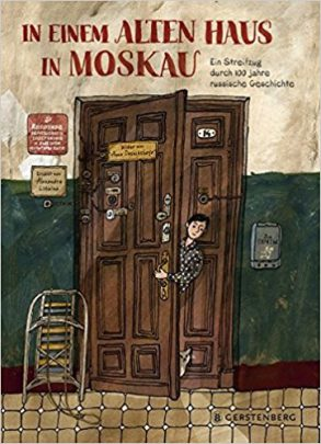 Cover: Alexandra Litwina, In einem alten Haus in Moskau