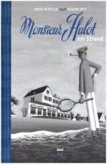Cover: David Merveille, Monsieur Hulot am Strand