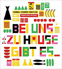 Cover: Isabel Minhós Martins, Bei uns zu Hause gibt es ...