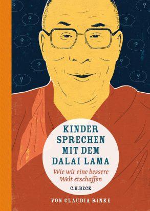 Cover: Claudia Rinke, Kinder sprechen mit dem Dalai Lama