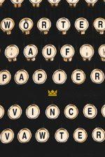 Cover: Vince Vawter, Wörter auf Papier