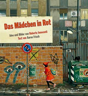 Cover: Aaron Frisch; Das Mädchen in Rot