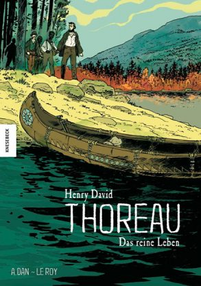 Cover: Maximilien le Roy; Henry David Thoreau ‒ Das reine Leben