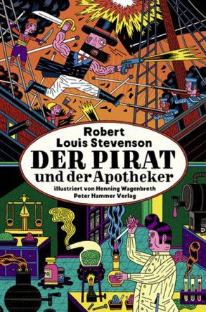Cover: Robert Louis Stevenson; Der Pirat und der Apotheker